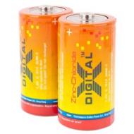 Батарейка X-DIGITAL солевая бочка R20 (12шт в уп)