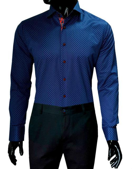 Мужские рубашки приталенные Slim Fit