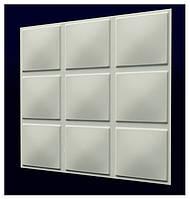 "3-D панели из гипса ""Кубики"""