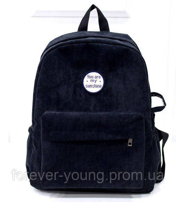 6b02e8ff1a03 Рюкзак текстильный черный, цена 450 грн., купить в Киеве — Prom.ua ...