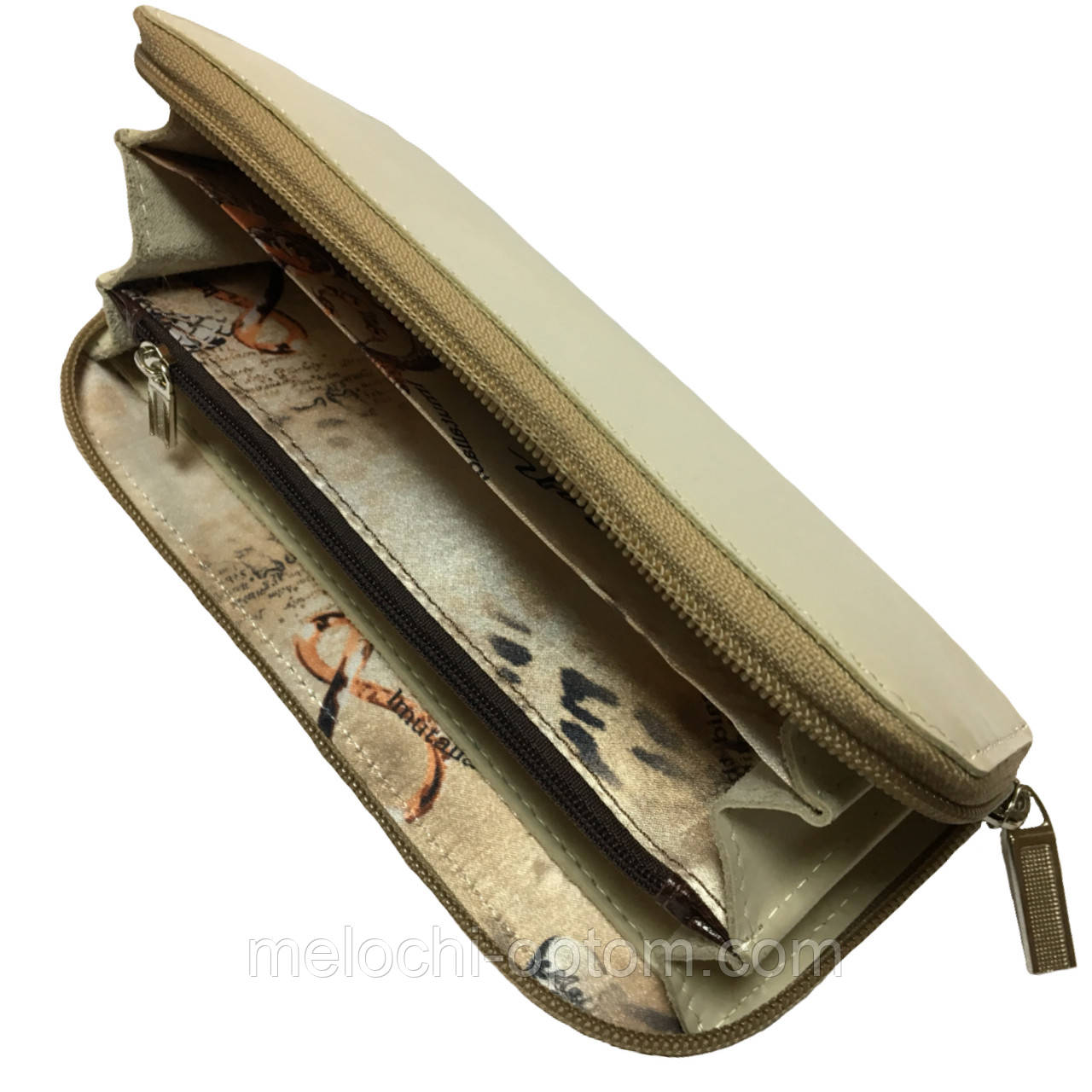 Кошельки CREZ из натуральной кожи (190х90mm) кожаные портмоне Белый