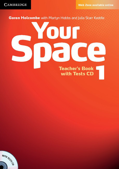Your Space 1 Teacher's Book with Tests CD (книга учителя)