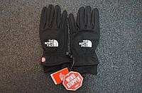Зимние перчатки The North Face для сенсора replica AAA