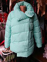 Демисезонная женская куртка  CLASSic 1707 бирюза