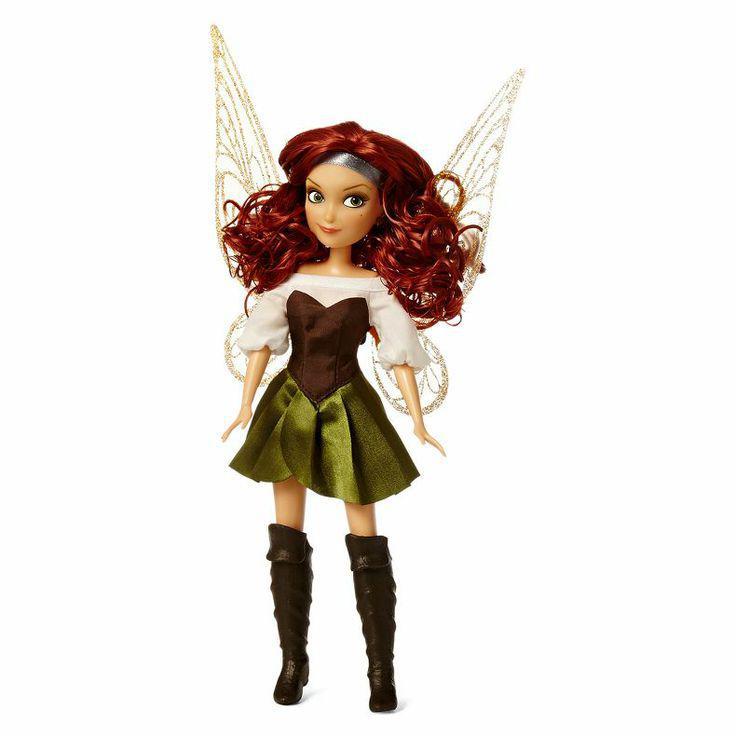 Кукла Zarina FairiesDisneyЗарина с ажурными движущимися крыльями