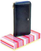 Женский кожаный кошелек клатч на молнии Dr.Bond натуральная кожа, фото 1