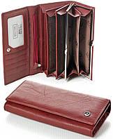 Женский кожаный кошелек Boston натуральная кожа, фото 1