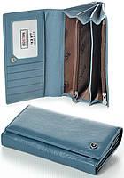 Женский кожаный кошелек Boston с визитницей натуральная кожа, фото 1