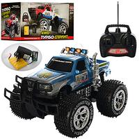 ДЖИП игрушечный 6568-310/9000 радиоуправляемый,аккум,35см, резиновые колеса, свет, 2цвета,игрушечная машинка