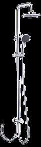 Душевая стойка WELLE 3R-1KM0404B-TH3341C