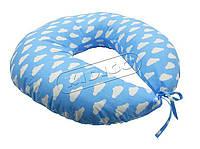 """Подушка для годування з наволочкою """"KIDIDGO"""" (Сова,Зігзаг,Горошок, Хмарки,Зірки)"""