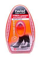 Губка с дозатором для обуви из гладкой кожи Большая Twist (цвет бесцветный)