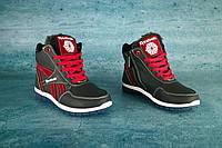 Детские зимние кроссовки Reebook 10053 Красные