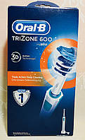 Электрическая аккумуляторная зубная щетка Oral-B Trizone 600