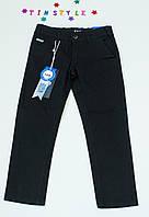Модные  чёрные  в мелкую полоску брюки 116 -164 см