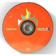 Диск DVD+RW VIDEX 4,7GB spindle box 4x 10pcs