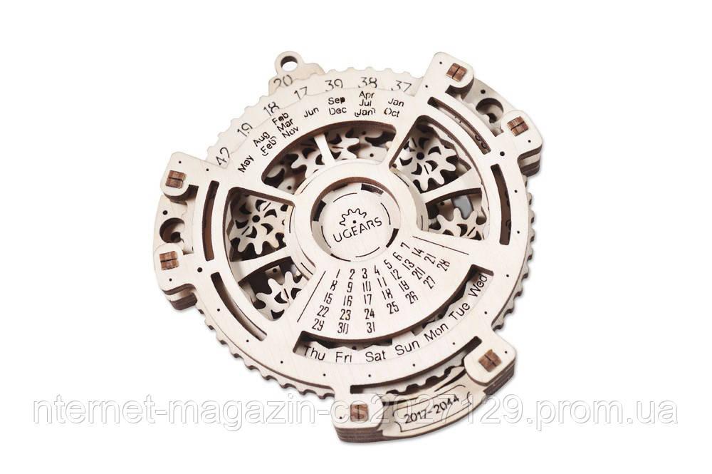 Дерев'яний механічний конструктор «Календар- навігатор»