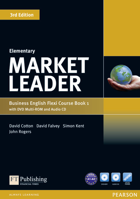 Market Leader (3rd Edition) Elementary Flexi 1 Course Book + DVD-ROM