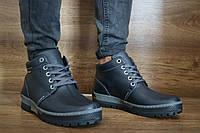 Мужские зимние ботинки Norman 10032 Синие