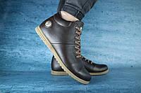 Мужские зимние ботинки MiLord 10035 Коричневые