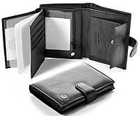 Мужской кожаный кошелек правник Boston Под документы, фото 1
