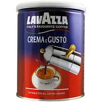 Кофе молотый Lavazza Crema e Gusto Classico в жестяной банке 250г. ORIGINAL !