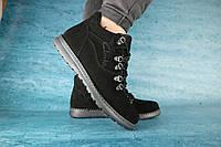 Мужские зимние ботинки Clarks 10040 Черные