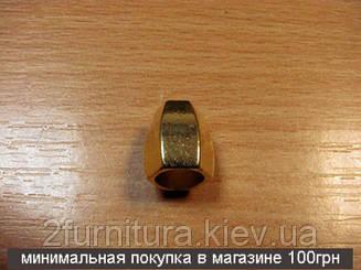 Наконечник на шнур золото, 10шт 5172