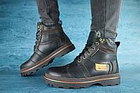 Мужские зимние ботинки Riccone 10047 Черные