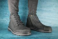 Мужские зимние ботинки Westland 10067 Черные