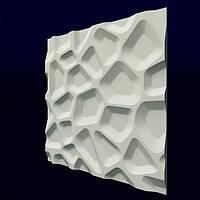 "3-D панели из гипса ""Впадины"""