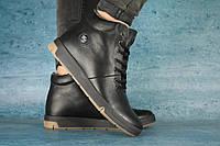Мужские зимние Ботинки Olimp 10075 Черные