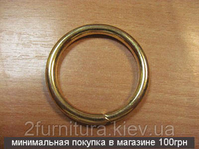 Кольца для сумок (38мм) золото, 4шт 4330