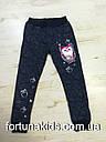 Трикотажные спортивные штаны для девочек Sincere 98-128 р.р., фото 2