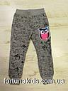 Трикотажные спортивные штаны для девочек Sincere 98-128 р.р., фото 3