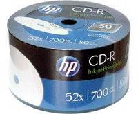 CD-R диски для аудио, принтовые Hewlett-Packard Рrintable Shrink/50