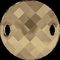 Стразы Swarovski пришивные 3221 Crystal Golden Shadow