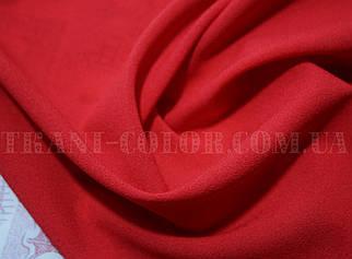 Ткань креп-шифон красный