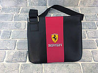 Сумка мужская Ferrari D2654 черная