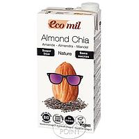 Миндальное молоко с семенами Чиа органическое
