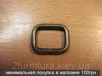 Рамки для сумок (15мм) антик, 50шт 04143