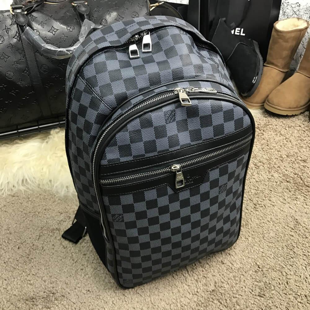 e21b2d127468 Рюкзак Louis Vuitton Michael Damier Graphite 18298 серо-черный - Брендовая  одежда от интернет-