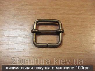 Регуляторы для сумок (16мм) антик, 20шт 04188