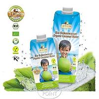 Кокосовая вода премиальная органическая