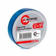 Изолента IT-0020 синяя Intertool