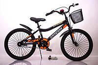 """Детский двухколесный  велосипед INTENSE 20"""" N-200 20 дюймов,черный, фото 1"""