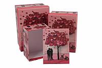 Подарочные коробки, День святого валентина, 3 шт