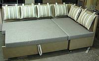 Кухонный уголок мягкий КОМФОРТ со спальным местом на заказ производство