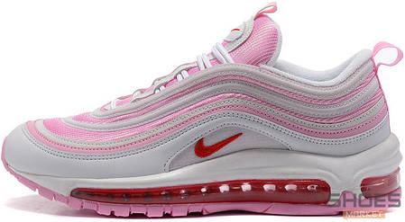 Женские кроссовки Nike Air Max 97 Pink/White, Найк Аир Макс 97, фото 2