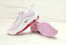 Женские кроссовки Nike Air Max 97 Pink/White, Найк Аир Макс 97, фото 3